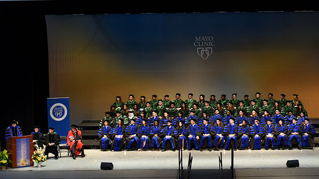 Mayo Clinic College of Medicine and Science medical and graduate student class of 2017