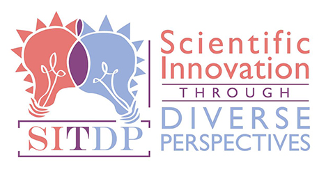 Logo for Scientific Innovation Through Diverse Perspectives event
