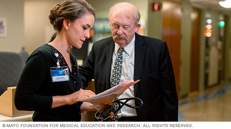 Photo of W. Frederick Schwenk II, M.D., and Ana L. Creo, M.D.