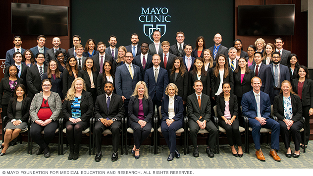 Photo of residents in Internal Medicine Residency at Mayo Clinic in Florida