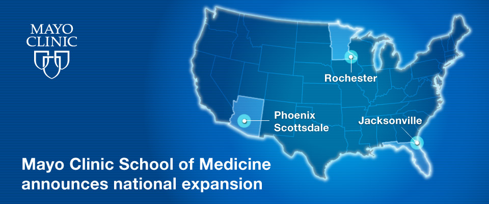 Mayo Clinic School Of Medicine Mayo Clinic - Map of medical schools in the us