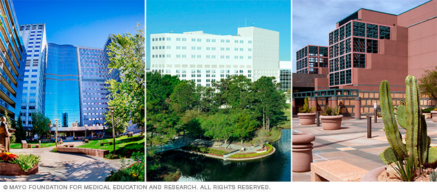 Mayo Clinic campus locations