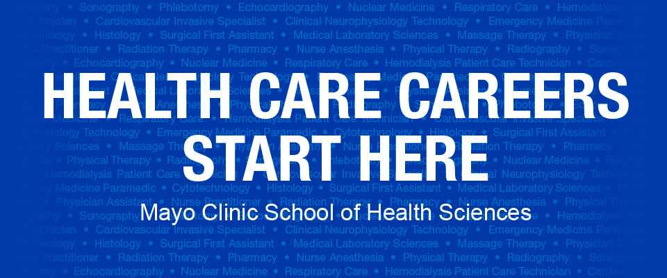 Health care careers start here