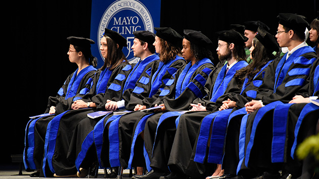 Mayo Clinic College of Medicine and Science 2017 commencement ceremony