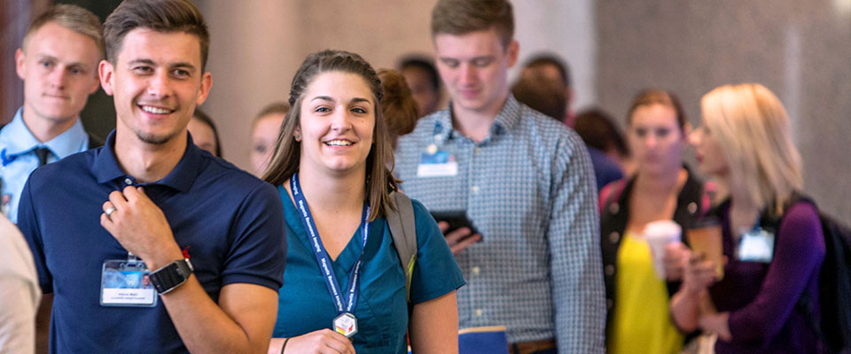 Mayo Clinic students at convocation event