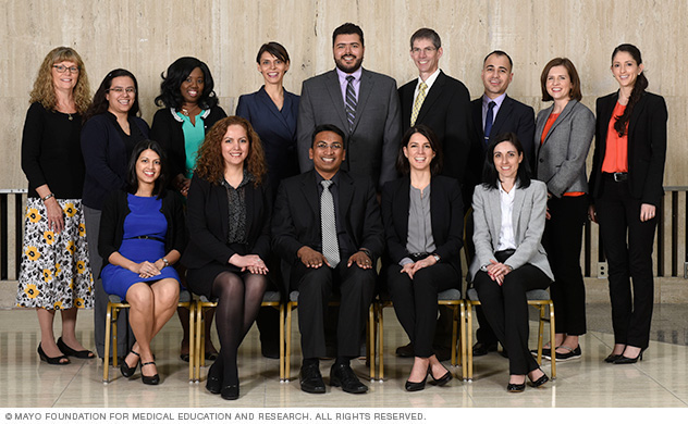 Current endocrinology fellows spring 2017 at Mayo Clinic