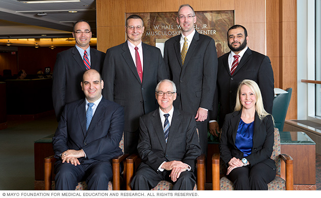 Mayo Clinic Spine Surgery Fellowship faculty in Rochester, Minnesota