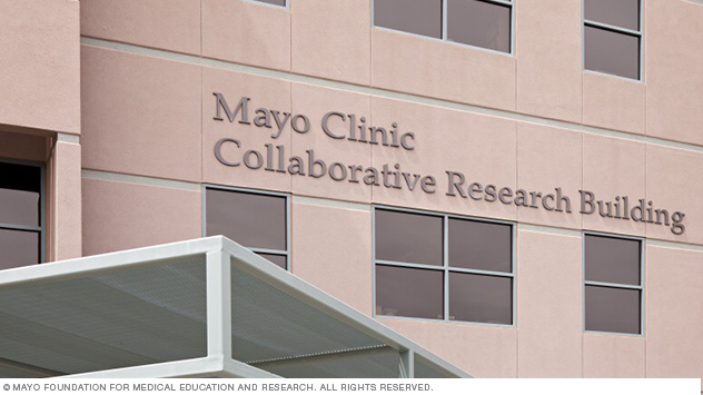 Research building at Mayo Clinic's Arizona campus