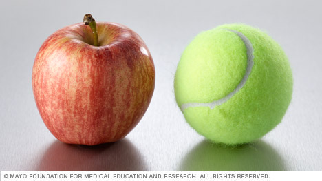 A small apple is one serving