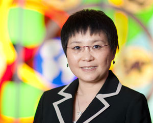 Ningling Kang, Ph.D., a biochemist and molecular biologist at Mayo Clinic Cancer Center