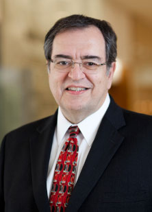 Photograph showing Robert B. Diasio, M.D., director, Mayo Clinic Cancer Center