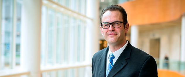 Jordan D. Miller, Ph.D., of the Cardiovascular Disease and Aging Lab at Mayo Clinic