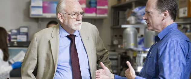 Larry R. Pease, Ph.D., leads research in the Clinical Immunology and Immunotherapeutics Program at Mayo Clinic.