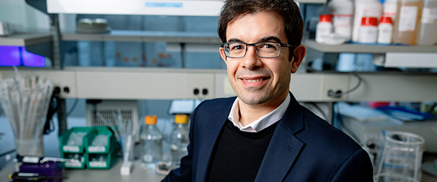 Joao Passos, Ph.D., is developing new early and preventive interventions against age-associated chronic disease in his Cell and Molecular Aging Laboratory at Mayo Clinic.