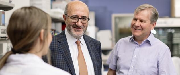 Image of Drs. Torres and Harris at Mayo Clinic