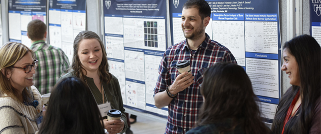Graduate Research Education Program students in the Department of Immunology at Mayo Clinic