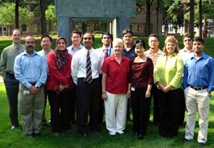 Staff of the GI Research Unit