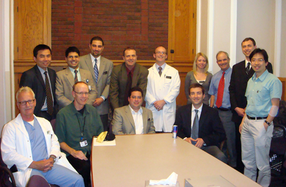 METRIC investigators with guests from University of California, San Francisco, June 2008.