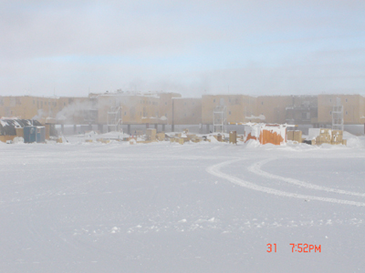 2006 Study Updates/Photos - South Pole Station