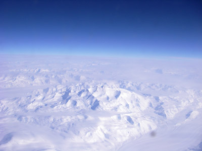 2006 Study Updates/Photos - flight over Antarctica