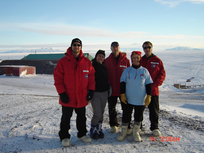 2006 Study Updates/Photos - our team at McMurdo Station