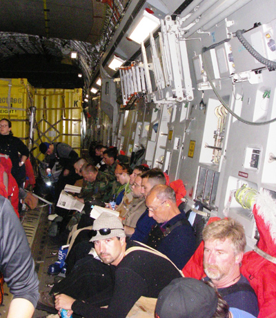 2006 Study Updates/Photos - team at McMurdo Station.