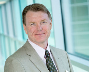 Photograph showing John A. Copland III, Ph.D., a Mayo Clinic Cancer Center molecular biologist