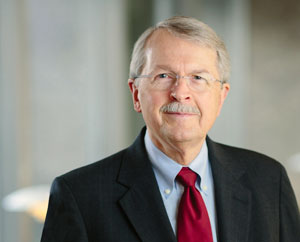 Photograph showing James N. Ingle, M.D., a Mayo Clinic Cancer Center oncologist