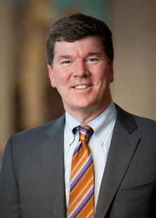 Photograph showing Keith Stewart, M.B., Ch.B., dean for research at Mayo Clinic in Arizona